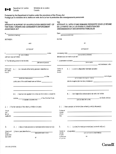 Release Of Information For Family Orders And Agreements